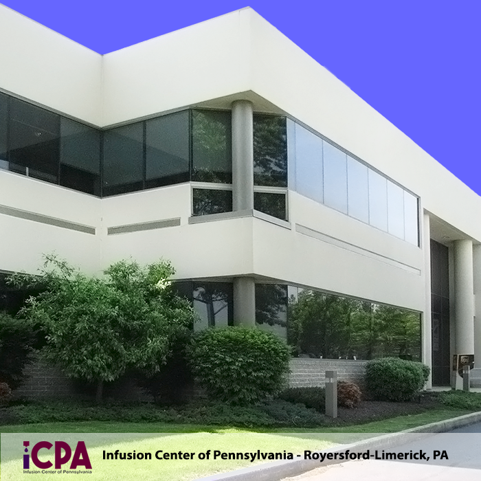 The Infusion Center of Pennsylvania has office in Royersford